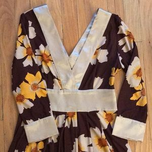 Size S Flowered dress